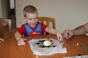 easter egg tie dye
